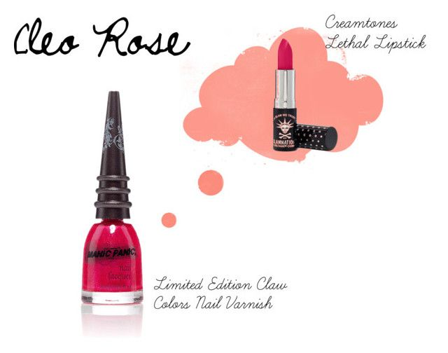Cleo Rose by manic-panic-uk on Polyvore featuring beauty and Manic Panic