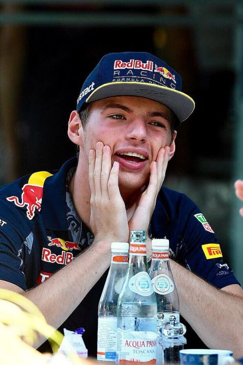 "hannaclock: "" Max Verstappen - F1 Malaysian GP 2016 "" Smol' lil' ball of sunshine"