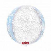 Snowflake Orbz Balloon $22.95 (Inflated) U29401