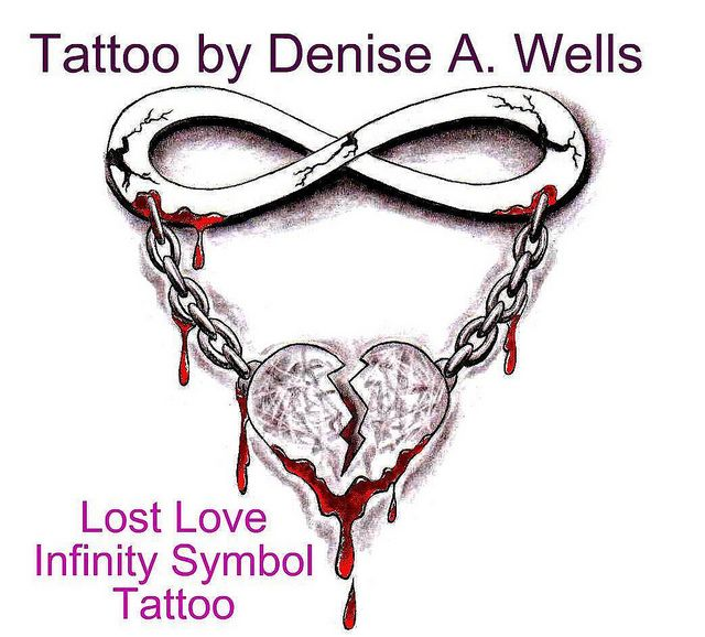 lost love tattoo design by denise a wells tattoos