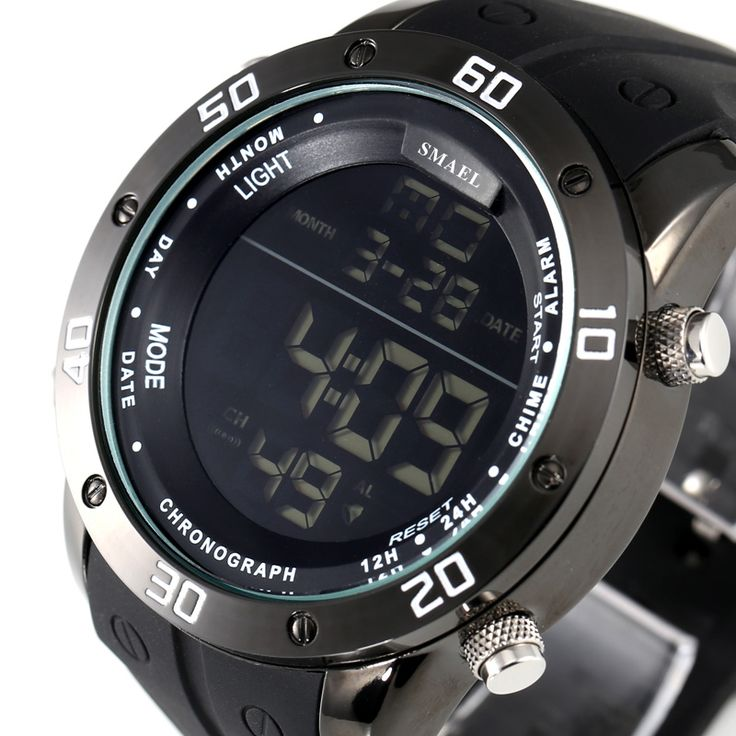 Fashion Casual Watches Men Orange LED Digital Watches Sports Alloy Clock Male Automatic Date Watch Army Men's Wristwatch WS1145 Like if you remember  #shop #beauty #Woman's fashion #Products #Watch