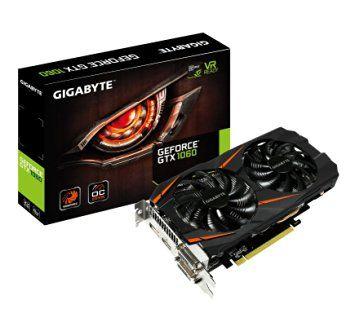 Gigabyte GeForce GTX 1060 WINDFORCE OC 6G - $229 #LavaHot http://www.lavahotdeals.com/us/cheap/gigabyte-geforce-gtx-1060-windforce-oc-6g-229/121008 (Dream PC's GPU)
