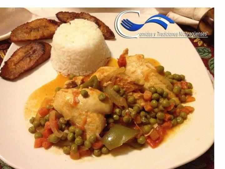 Nicaraguan Arroz Con Pollo Recipe — Dishmaps