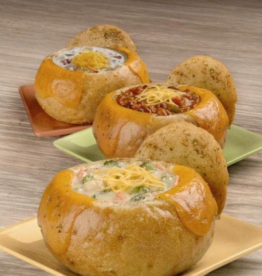 Domino's Pizza Copycat Recipes: Dominos Bread Bowl Pastas-- use store bought bread dough