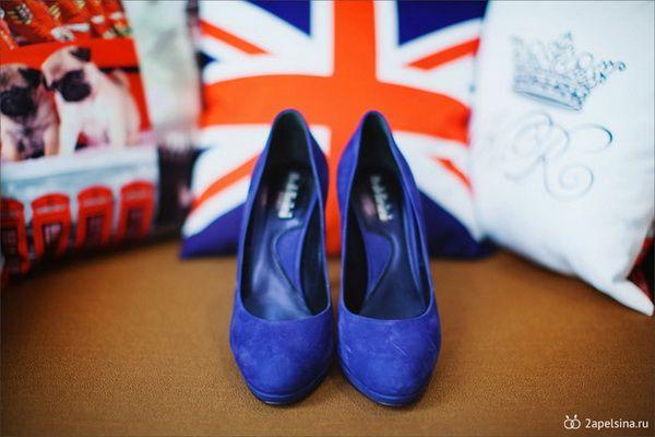 свадебные туфли #wedding #shoes #blue