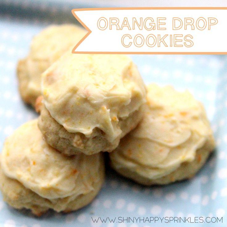 orange drop cookie recipe | Delicious recipes | Pinterest