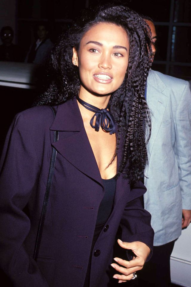 Crimping irons have a bad rap, but star of Wayne's World Tia Carrere proves the wavy hairstyle can be chic. In fact, sawtooth curls have made waves on the runways of Chanel, Stella McCartney, Giorgio Armani, and Zac Posen.   - MarieClaire.com