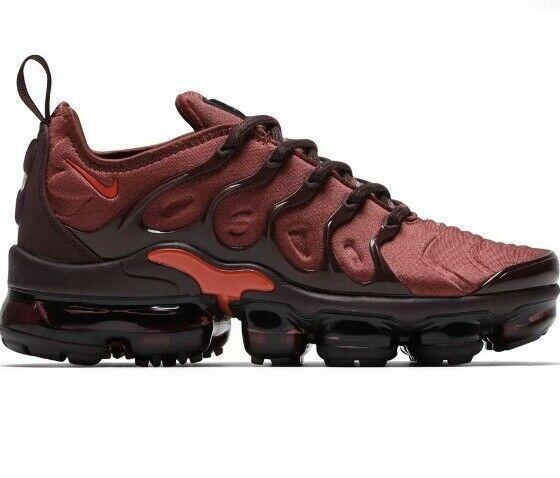 e657d181c378c Nike Air Vapormax Plus Burnt Orange Women Sz 7 AO4550-201 - Nike ...