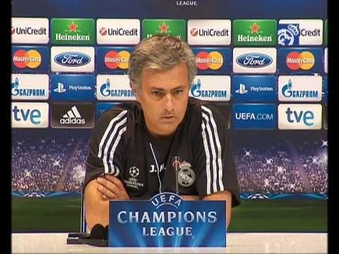 Video Real Madrid  Manchester City: Rueda de prensa de José Mourinho