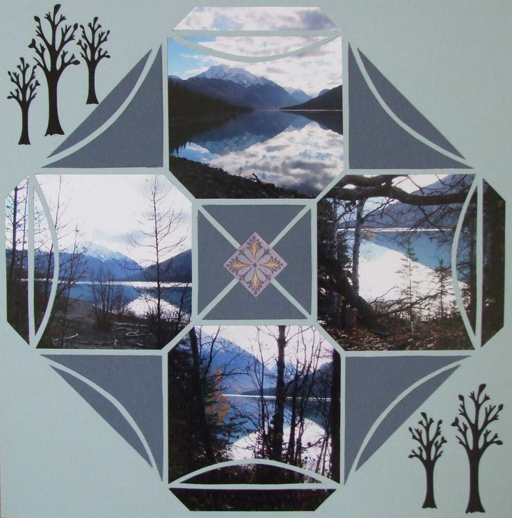 Photo Collage Created by Marion, Lea France designer using Stained Glass. #Photos #Collage #Designs #Stencils #PhotoCollage #Nature