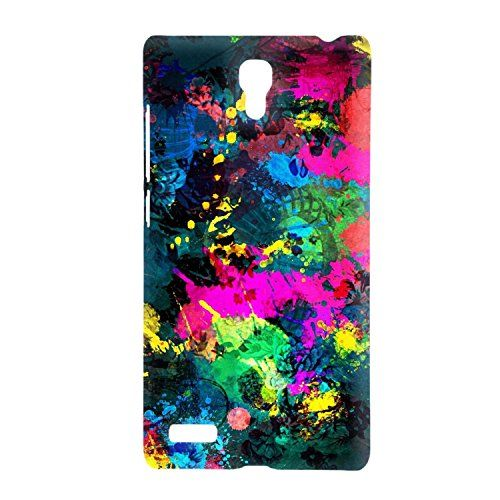 Clapcart Graphic Color Printed Design Back Cover For Xiaomi Redmi Note 4G MultiColor