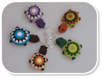 www.cudaczki.com #crochet #turtles