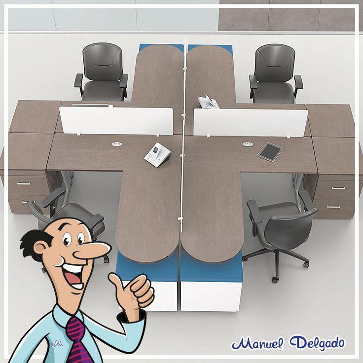 Si eres de los que le encanta trabajar en equipo estas for Cuales son los equipos de oficina