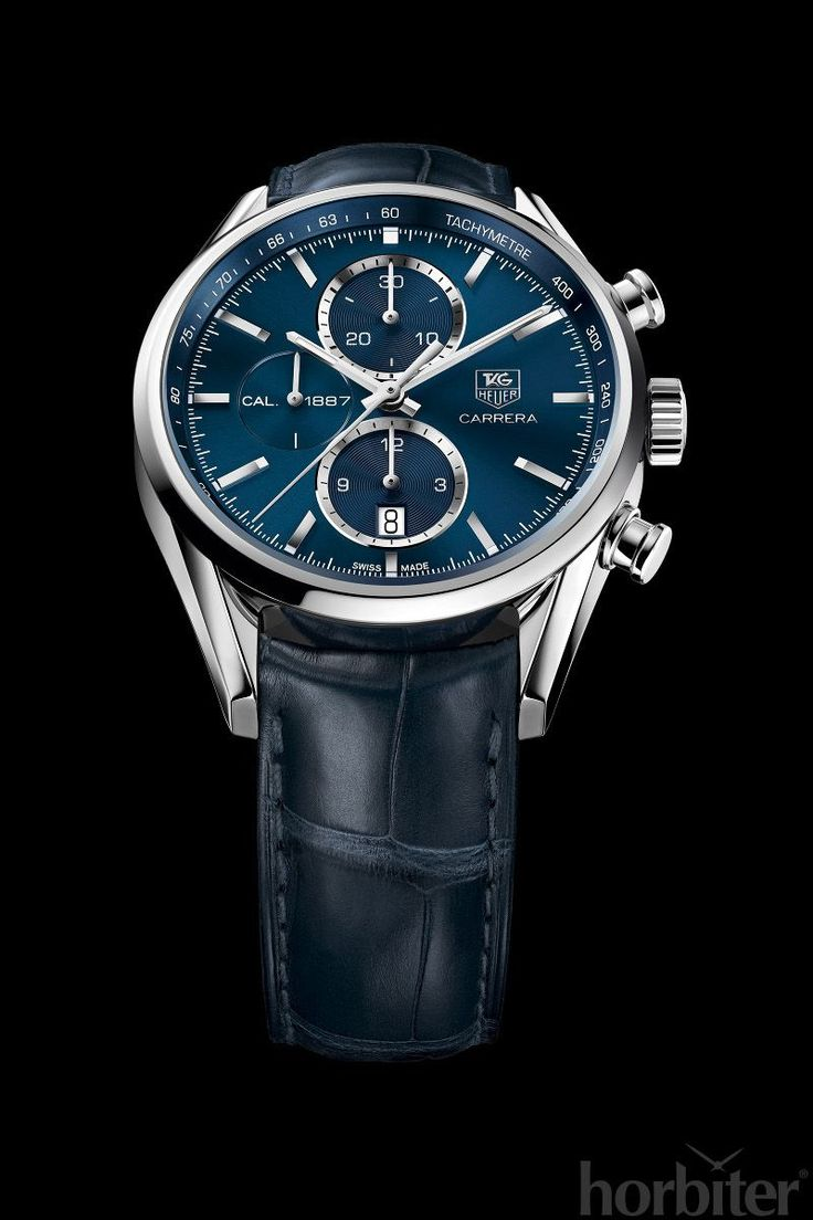 Tag Heuer CARRERA Calibre 1887 Chrono with Blue dial