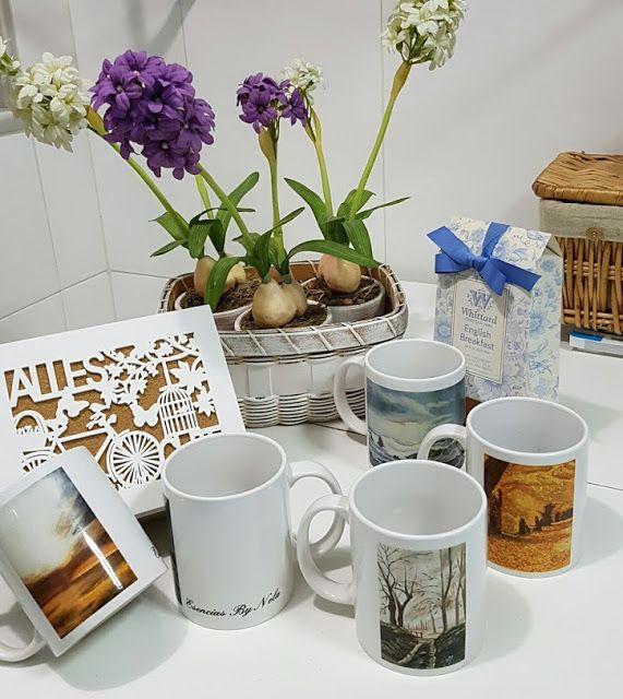 Blog  by  Nela: Ultima colección de Tazas By Nela........ Last col...