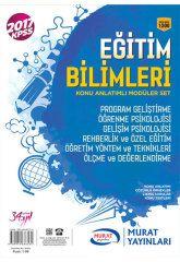 2017 KPSS Eğitim Bilimleri Konu Anlatımlı Modüler Set Murat Yayınları