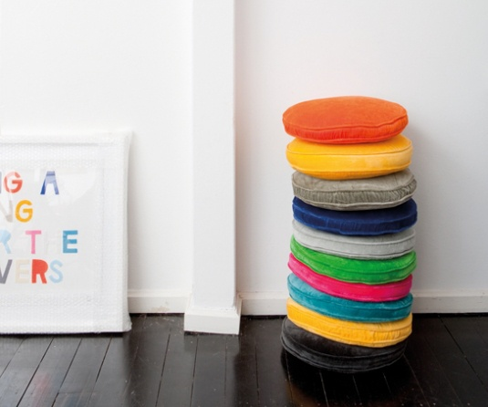 Penny Round Cushions from Castle and Things