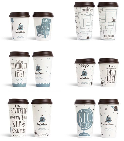 Caribou is stepping up their game. by Colle + McVoy