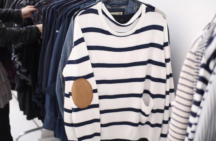 a pair and a spare . diy fashion: DIy Breton Tops