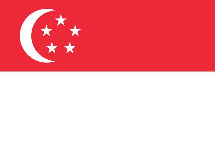 Flag of Singapore - Drapeau de Singapour — Wikipédia