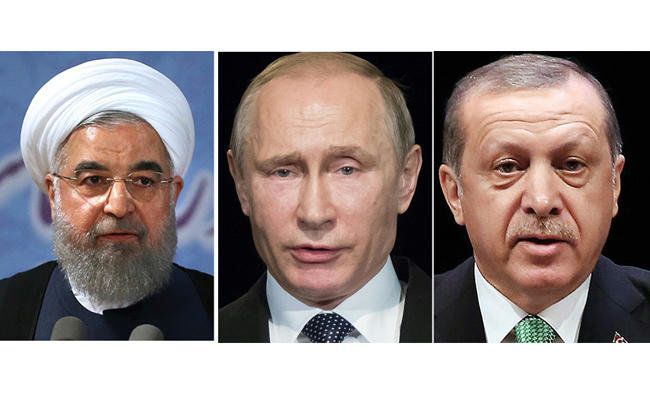 """Erdogan, Putin, Rouhani to meet next week on Syria. Turkish President Erdogan is set to meet his Russian counterpart Putin on Nov. 22 for the second time in nine days, Turkish broadcaster NTV reported. Iran's President Rouhani will also join the talks. """"Turkey, Russia and Iran have become power brokers in Syria, while the US aims to use the YPG as a bargaining chip for its regional goals against Russia,"""" he added. """"Washington's priority now is to strengthen the Syrian-Kurdish presence in…"""