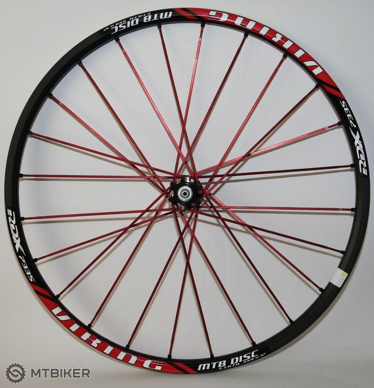 """REMERX Viking Disc zapletené kolesá MTB 26"""", pevná osa - MTBIKER Shop"""