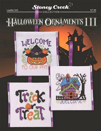 Leaflet 343 Halloween Ornaments III – Stoney Creek Online Store