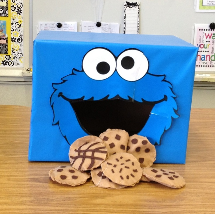 Cookie Monster Cookie Toss Speech Therapy Cookie