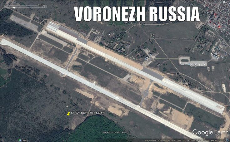 Russia AF 7000th Air Base at Voronezh has been completely re-build. Bomber base.