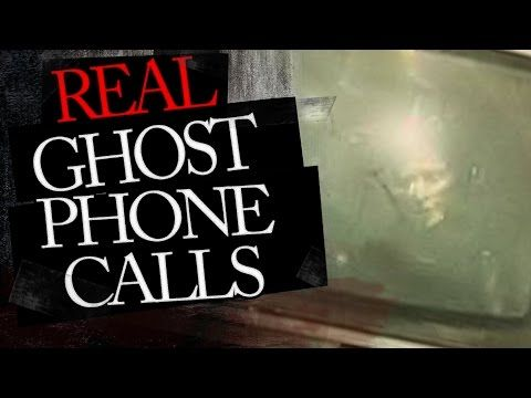 Real Disturbing Ghost Phone Calls : Calls from the Dead - YouTube