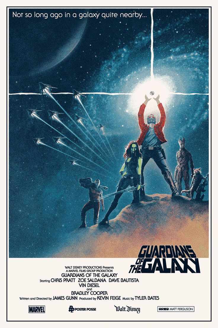 Fan poster of 'Guardians Of The Galaxy' (2014)
