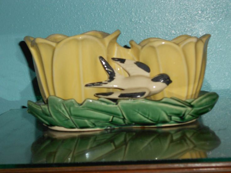 14 Best Images About Mc Coy Pottery On Pinterest Canary Birds Vintage And Cookie Jars