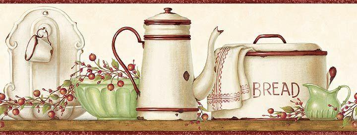 Bordes de cocina para imprimir imagenes y dibujos para - Laminas para cuadros de cocina ...