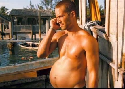 This mpreg (pregnant man) morph of Paul Walker made on the Mpreg forums after his death | The 50 Worst Things On The Internet In 2013