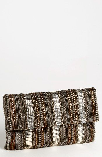 Moyna 'Tribal' Beaded Clutch available at #Nordstrom