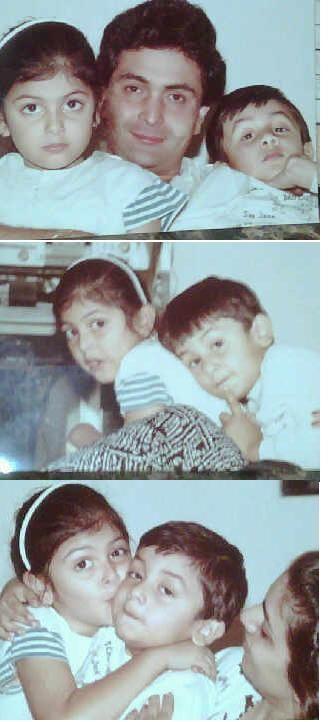 Ranbir and Riddhima's Childhood pics | PINKVILLA