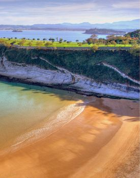 mataleñas beach,santander, spain
