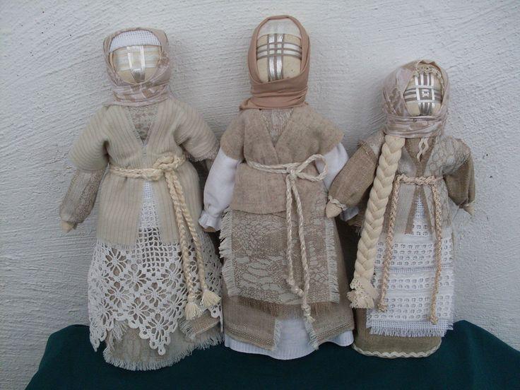 Ukrainian dolls «Motanka» style #UkrainianFolkDoll #Motanka