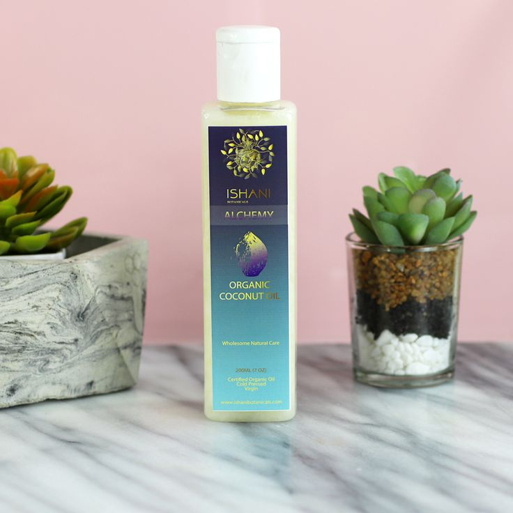 Ishani Botanicals Coconut Hair Oil for Dry Scalp - My Favorite Dry Scalp Products for the Winter by popular LA cruelty free beauty blogger My Beauty Bunny #sponsored #crueltyfree