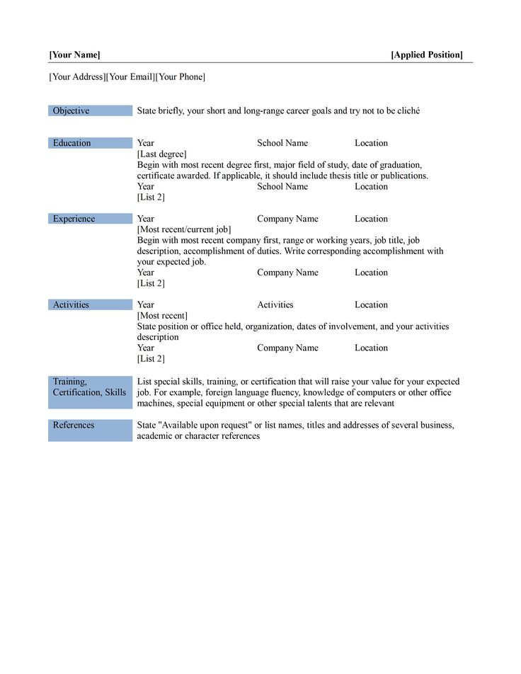 How To Find Resume Templates On Word 2010 Microsoft Office Resume
