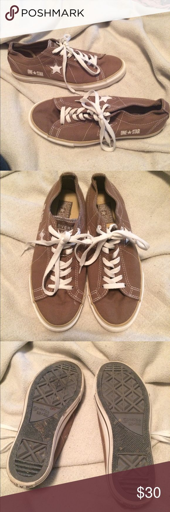 Brown Converse All-Stars size 9 Women's size 9, men's size 7. Gently used - still great shape! Converse Shoes Sneakers
