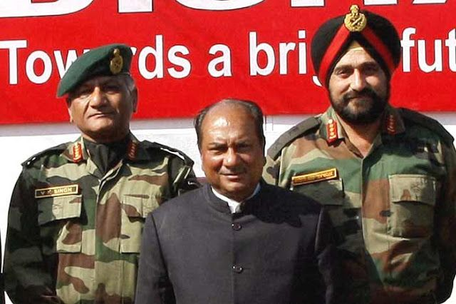 J.N.Chaudhary was appointed as new head of NSG (National Security Guard) on 26 December 2013.