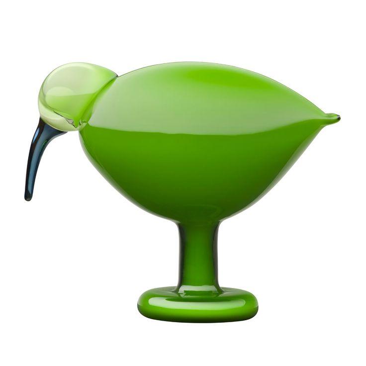 Birds by Toikka, Ibis Green - Oiva Toikka - Iittala - RoyalDesign.com
