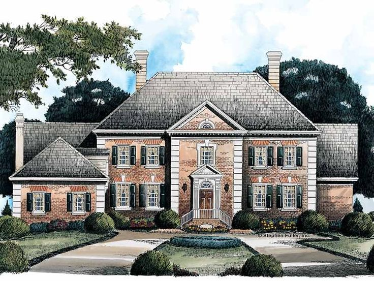 12 best house plans images on pinterest country homes for French colonial house plans