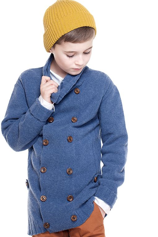 Mole Little Norway AW14 elegant children's collection in soft knits