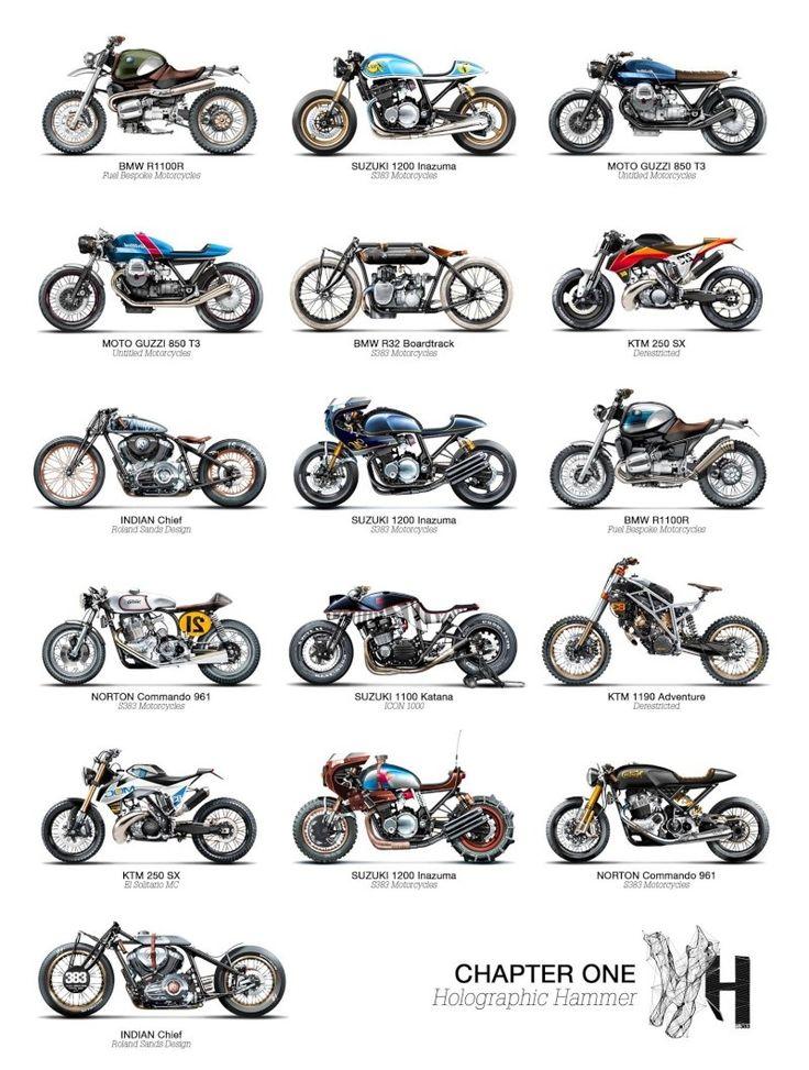 les 25 meilleures id es de la cat gorie motos customis es sur pinterest moto chopper bobbers. Black Bedroom Furniture Sets. Home Design Ideas