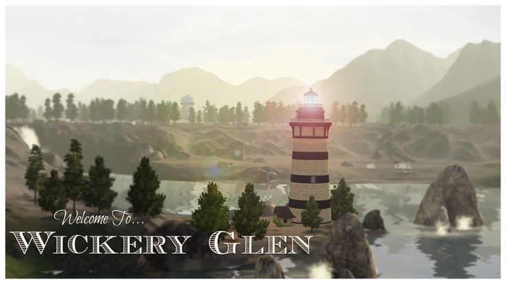 """Wickery Glen (a Moonlight Falls makeover) """"Bordered by mountains on three sides, Wickery Glen has a small population with few tourists. The town is, at most, a place that others drive through to get..."""
