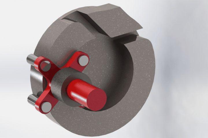 Rapid acting geneva - STEP / IGES,STL,SOLIDWORKS,Parasolid - 3D CAD model - GrabCAD