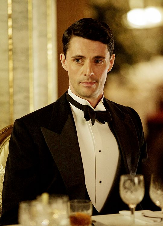 Henry Talbot - Matthew Goode in Downton Abbey Season 6, set in 1925 (TV series).