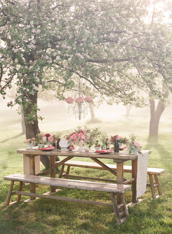 Pink and strawberry wedding ideas | Photo by Weber Photography | Read more - http://www.100layercake.com/blog/?p=71453